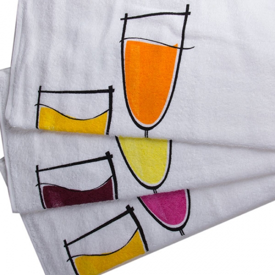 Tea Towels with Design