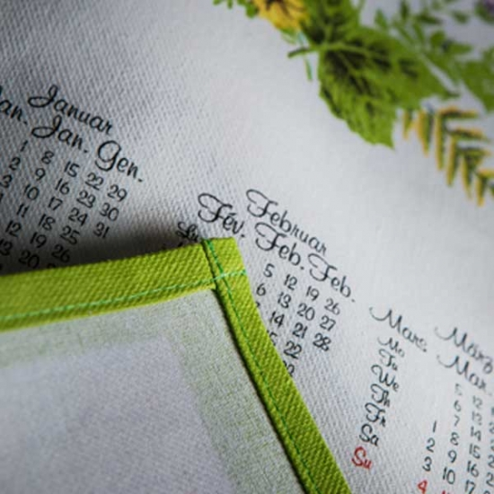 Medium Cotton Calendar