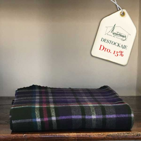 Chequered Plaid Wool