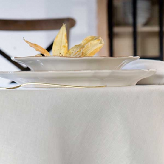 Poly Linen Tablecloth