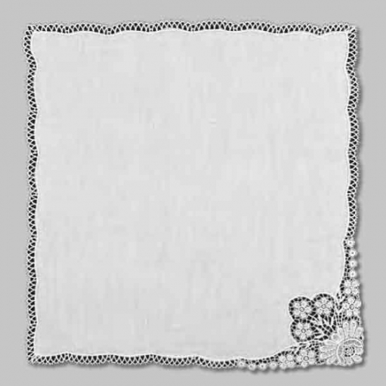 Ladies Linen Handkerchief