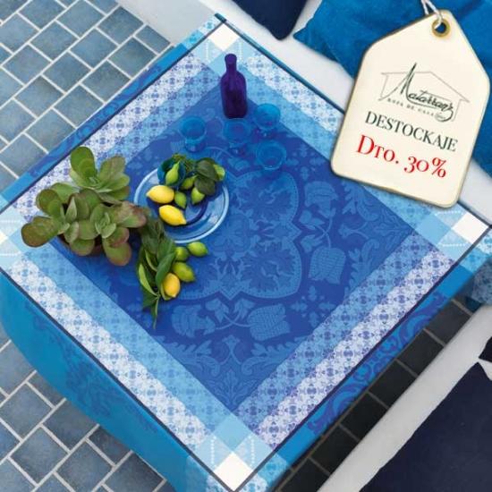 Blue Tile Tablecloths