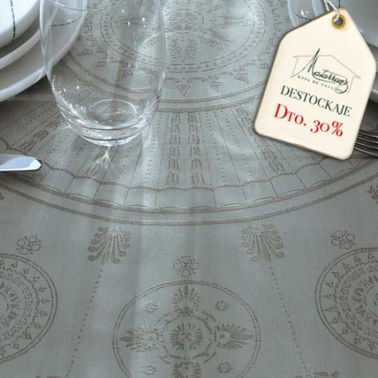 Eloise Grey Tablecloth
