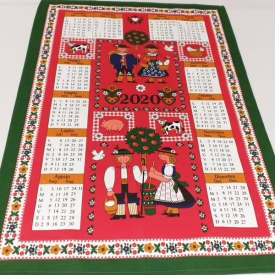 Calendario Tela Tiroles