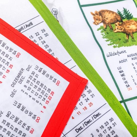Calendario Tela Mediano
