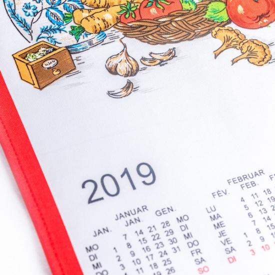 Calendario Tela Grande