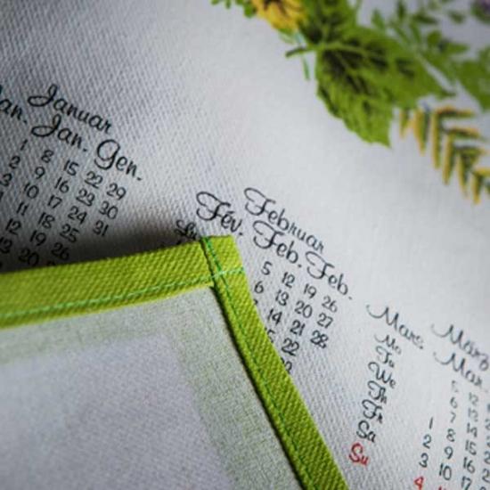 Medium Cotton Calendar