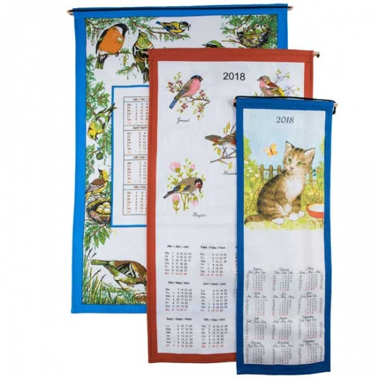 Set Cotton Calendars