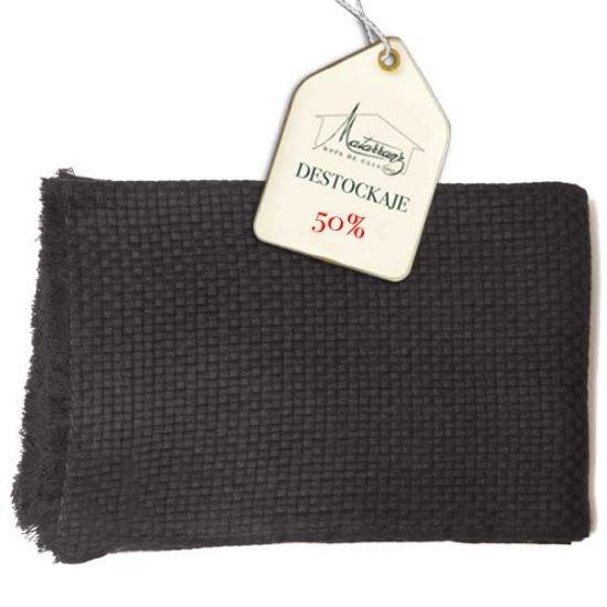Plaid Punto Cashmere Basket