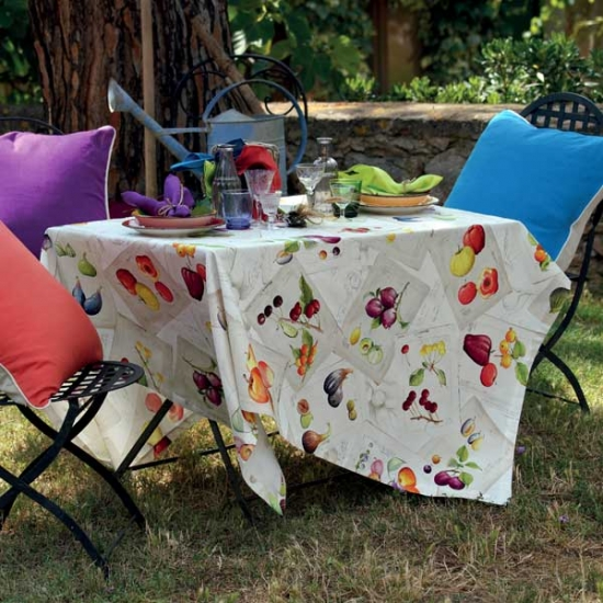 Cotton Tablecloth Treated
